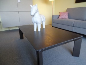 table basse et cheval