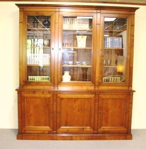 Bibliothèque Directoire 3 portes