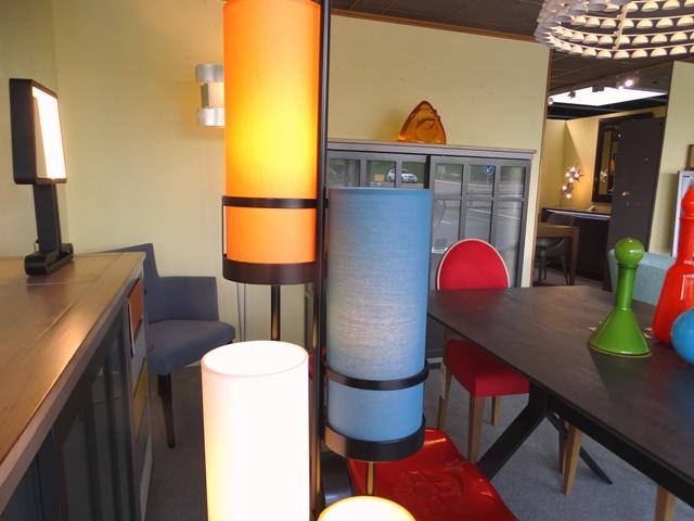 Lampadaire coloré